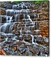 Stairs Of Water Canvas Print
