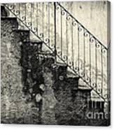 Stairs On A Rainy Day Canvas Print