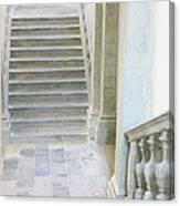 Stairway In Radovlica Canvas Print