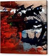 Stampede 01 Canvas Print