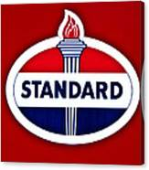 Standard Oil Sign Canvas Print