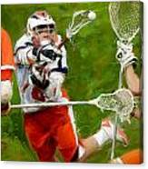 Stanwick Lacrosse 2 Canvas Print