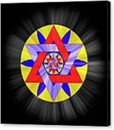 Star Of David Two Canvas Print