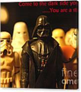 Star Wars Gang 4 Canvas Print