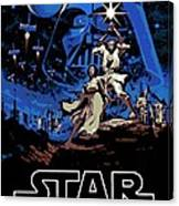 Star Wars Poster Canvas Print