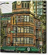 Starbucks On Denman Canvas Print