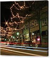 Starry Nights - Main Street Nights Canvas Print
