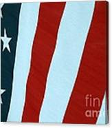 Stars And Bars Canvas Print