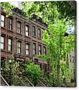 Stately Ny Street Canvas Print
