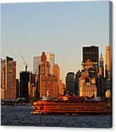 Staten Island Ferry 3 Canvas Print