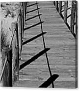 Station Boardwalk Canvas Print