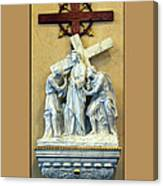 Station Of The Cross 02 Canvas Print