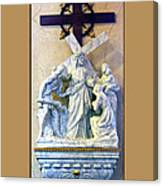 Station Of The Cross 08 Canvas Print
