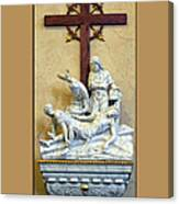 Station Of The Cross 11 Canvas Print