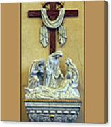 Station Of The Cross 13 Canvas Print