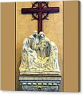 Station Of The Cross 14 Canvas Print