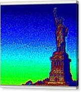 Statue Of Liberty-3 Canvas Print