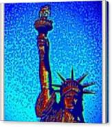 Statue Of Liberty-4 Canvas Print