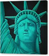 Statue Of Liberty ... Canvas Print
