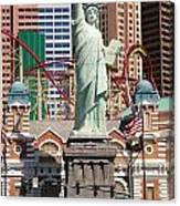 Statue Of Liberty Nv Canvas Print