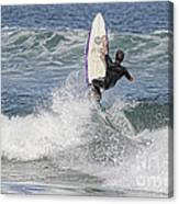 Staying On The Board Canvas Print