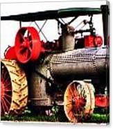 Steam Engine Tractor  Canvas Print