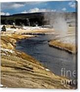 Steam Heating Canvas Print