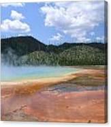 Steam Lake Canvas Print