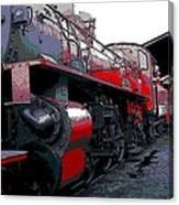 Steam Punk Railroad Canvas Print