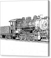 Steam Switcher Number 1894 Canvas Print