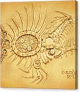 Steamfish 2 Canvas Print