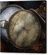 Steampunk - Gauge For Sale Canvas Print