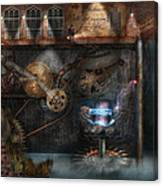 Steampunk - Industrial Society Canvas Print