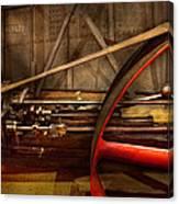 Steampunk - Machine - The Wheel Works Canvas Print