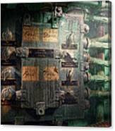 Steampunk - Naval - Electric - Lighting Control Panel Canvas Print