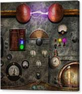 Steampunk - The Modulator Canvas Print