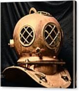 Steampunk - Diving - Diving Helmet Canvas Print