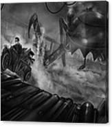 Steampunk Noir Canvas Print