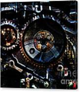 Steampunk Personal Decompression Chamber Model 39875da78803 Fully Accessorized Canvas Print