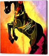 Steed 3 Canvas Print