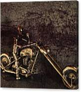 Steel Horse Canvas Print