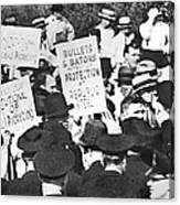 Steel Strike, 1937 Canvas Print
