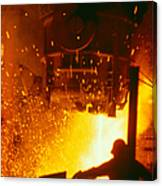 Steelworks Canvas Print