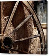 Stepping Back In Time Canvas Print