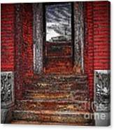 Steps To The Past Canvas Print