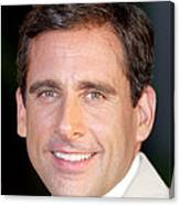 Steve Carell At Arrivals For The 40 Canvas Print