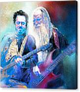 Steve Lukather And Leland Sklar From Toto 02 Canvas Print