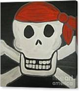 Steve The Pirate After Dark Canvas Print