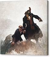 Stevenson - Kidnapped 1913 Canvas Print