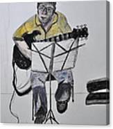 Steve's Guitar Canvas Print